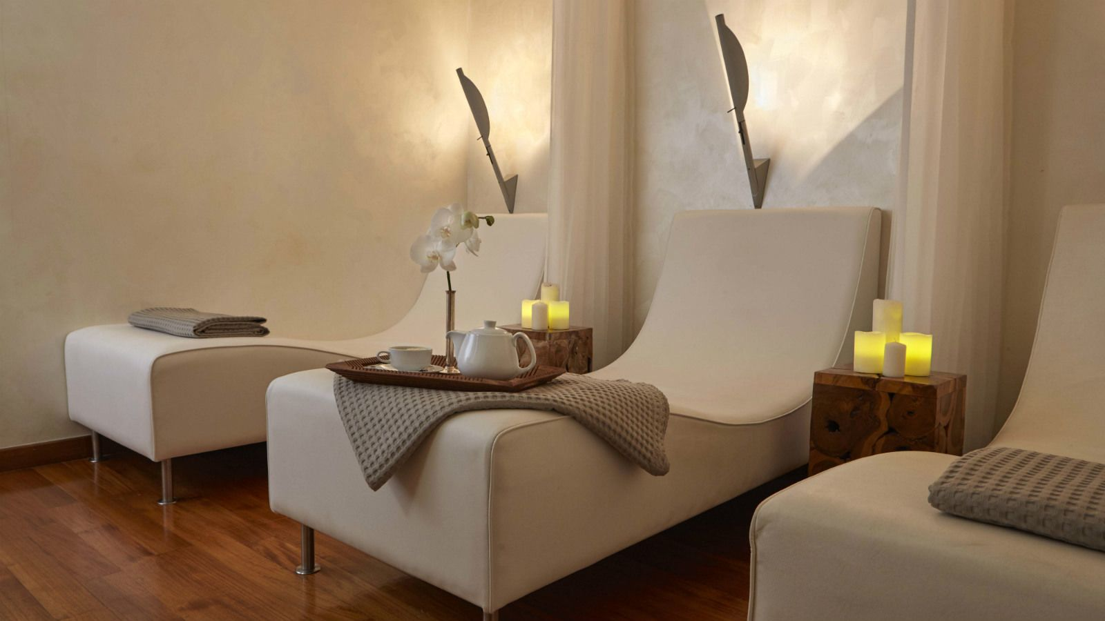 Relax Room at the GB Spa of Hotel Grande Bretagne Athens