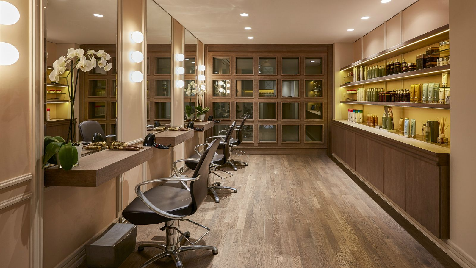 Hair and beauty salon at the GB Spa of Hotel Grande Bretagne Athens