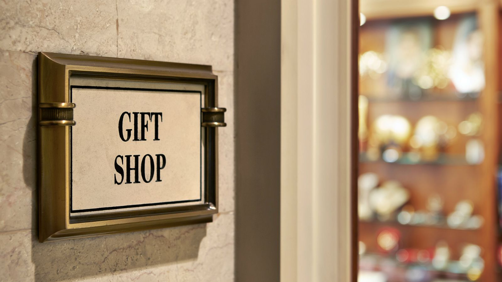 Find newspapers, magazines and more at the Gift Shop of the Hotel Grande Bretagne in Athens