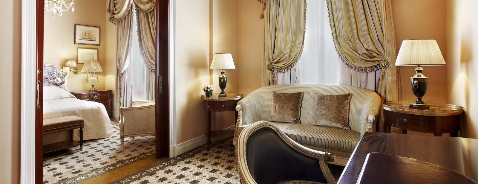 Deluxe Suite at Hotel Grande Bretagne, a Luxury Collection Hotel Athens Greece
