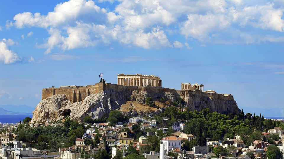 The fabled Acropolis & Parthenon Temple_Day View