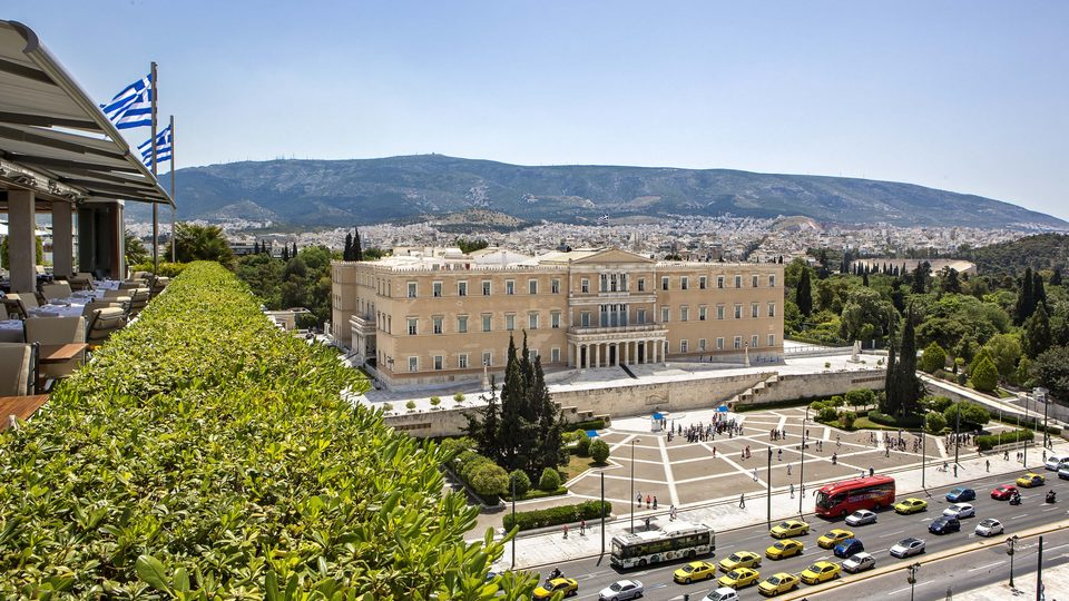 The Parliament and The Kallimarmaron Stadium