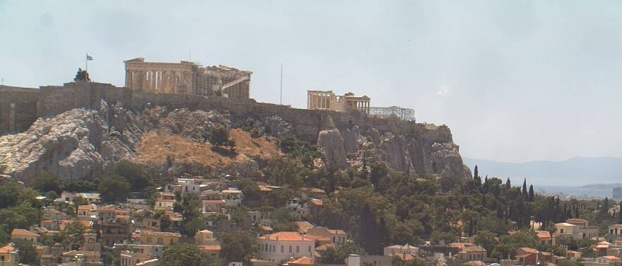 The fabled Acropolis & Parthenon Temple_Noon View